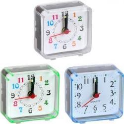 Настольный часы-будильник 5,8 * 5,5 * 2,7см 2046