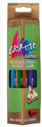 Карандаши цветные Marco Grip-Rite Jumbo c точилкой 12 цветов