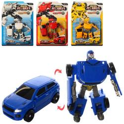 Трансформер (робот + машинка) 668-12