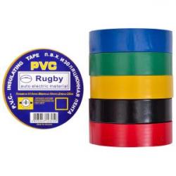 Изолента PVC 20 Rugby ассорти
