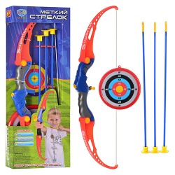 Лук (стрелы на присосках, мишень) M 0037