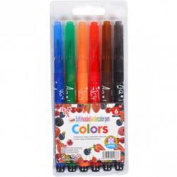 Фломастеры - кисточки COLOR-IT Colors 6 цветов 1818-6