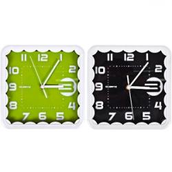 Настенные часы Квадрат кружево без рисунка 8882круж