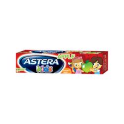 Детская зубная паста Astera KIDS со вкусом яблока 50мл