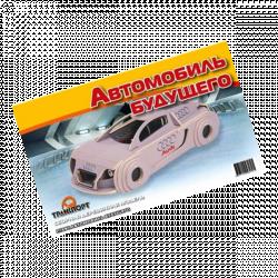 Деревянная сборная модель Автомобиль Будущего П139с