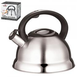 Металлический чайник Stenson с двойным дном 3,0 литра, MH-0237