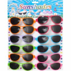 Очки детские цветные на упаковке 2561-2
