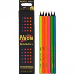Карандаши цветные Marco Neon 6 цветов 5500В/6