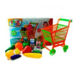 Тележка (супермаркет, овощи, фрукты, 8 шт.) 805A-22