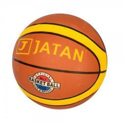 Мяч баскетбольный размер 7 (резина, 12 панелей, рисунок-наклейка, 550-600 г.), VA 0049