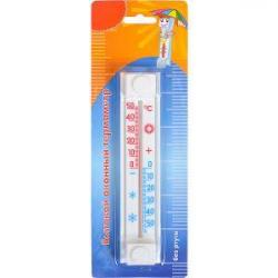 Термометр оконный на липучке 17,5 * 3,8см CH 3010