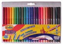 Фломастеры CLASS PREMIUM Легкое смывание 18 цветов 2718