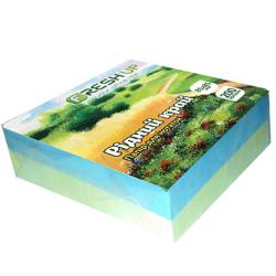 Бумага для заметок FRESH UP Родной край клееная 85х85мм 200 листов разноцветная