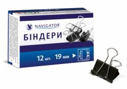 Биндер NAVIGATOR 19мм черный NV-75306