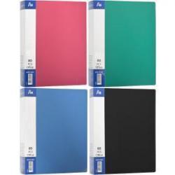 Папка COLOR-IT А4 80 файлов разноцветная P80F