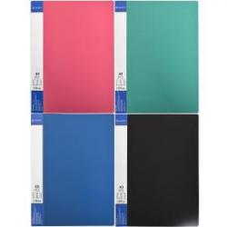 Папка COLOR-IT А4 40 файлов разноцветная P40F
