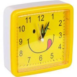 Настенный часы-будильник Смайл круг
