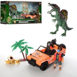 Игровой набор Dinosaur World транспорт с динозаврами, 2121-25A