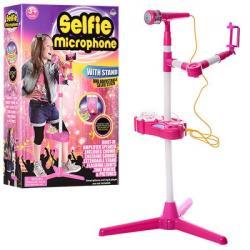 Микрофон на подставке (MP3, звук, свет, на батарейках), 66139-31