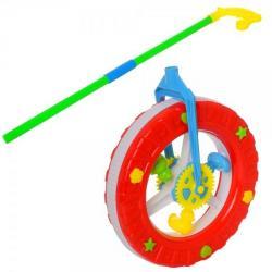 Каталка на палке колесо, 9905