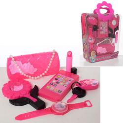 Набор аксессуаров (сумочка, телефон, часы, брелок, лзеркало, сумка) HC159E