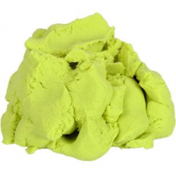 Кинетический песок 500г салатовый