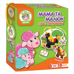 Игра с липучками Мама и Малыш Ферма VT1310-04
