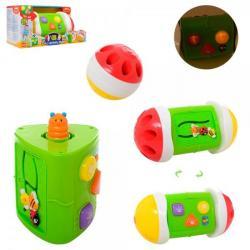 Игра 24см - звуки животных, погремушку, лабиринт, трещотка (свет, звук, на батарейках), 0745-NL