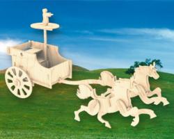 Деревянная сборная модель Боевая Колесница