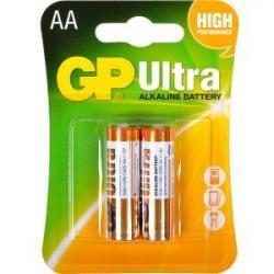 Батарейка GP 15AUHM-2UE2 щелочная LR6 U. AA Alkaline Ultra