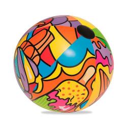 Мяч надувной Поп-Арт 91см 31044