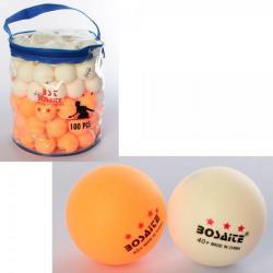 Теннисные шарики 100шт., MS 3101-1