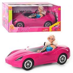 Кукла 29 см. В машинке, DEFA, 8228