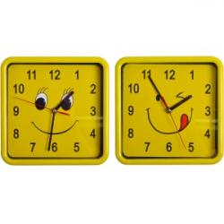 Настенный часы Смайл квадрат 8882