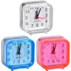 Настольные часы - будильник MINI 6 * 6 * 3 см 2046