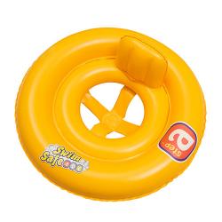 Круг Bestway Swim safe со спинкой и трусиками 69см 32027