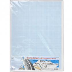 Бумага масштабно-координатная для черчения Графика А3 10 листов