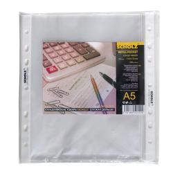 Набор файлов-карманов 100шт SCHOLZ А5+ 40мкм 5012