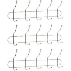 Вешалка настенная на 5 двойных крючков HMH5
