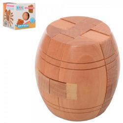 Головоломка Burrpuzzle Бочка деревянная, 5202