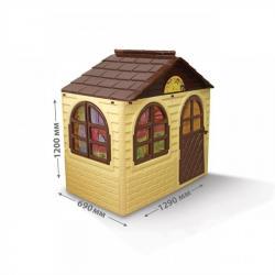 Дом детский со шторками, 02550-12