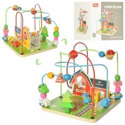 Деревянная игрушка Лабиринт, MD 2053
