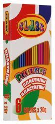Пластилин CLASS 6 цветов 120гр. 7621