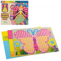 Набор для творчества плетение из бумаги, MK 0794