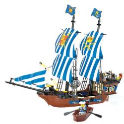 Конструктор KAZI  Пираты  Корабль 87011 608 элементы