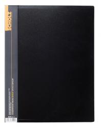 Папка SCHOLZ А4 20 файлов черная 06501