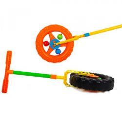 Каталка-колесо с трещоткой, KW-06-605