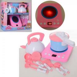 Бытовая техника - электроплита, чайник, кастрюля, кухонные принадлежности (звук, свет, на батарейках