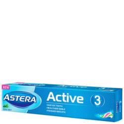 Зубная паста Astera Active 3 (Тройная действие) 100 мл
