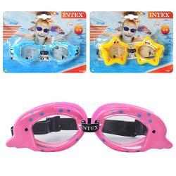Очки для плавания детские 3-8р. 55603